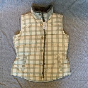 Maurices NWT synthetic down vest